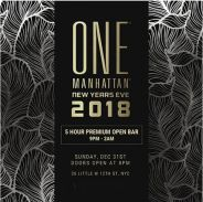 One Manhattan Formerly Tenjune New Years Eve NYE 2018