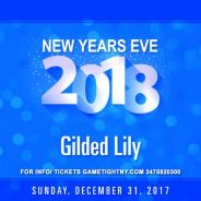 Gilded Lily New Years Eve NYE 2018