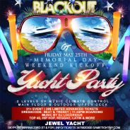 MDW Memorial Day Weekend NYC Blackout Jewel Yacht Party 2018