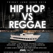 Manhattan Hip Hop vs Reggae Party Cruise Yacht party