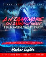 NYC Afterwork Halloween Yacht Party Cruise at Harbor Lights