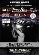 Camden Rocks All Dayer feat Juicebox and more at The Monarch